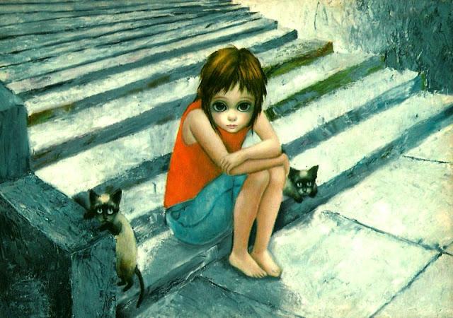 Ilustración de Margaret Keane