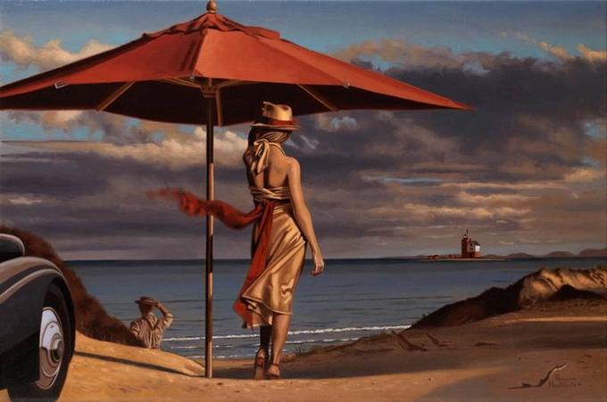Pintura de Peregrine Heathcote.