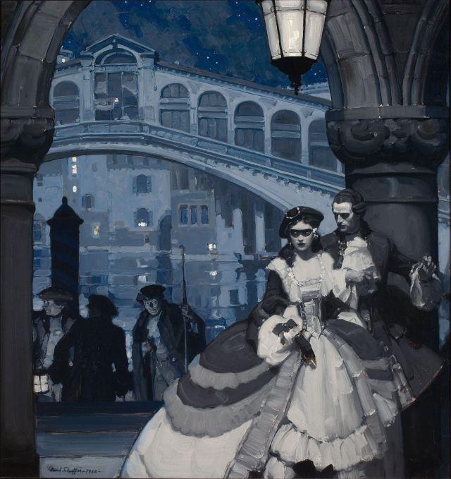 Ilustración de Mead Schaeffer