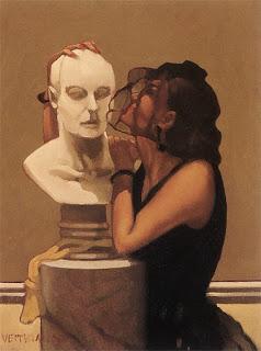 Pintura de Jack Vettriano.