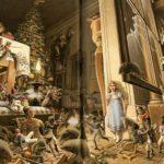 Ilustración de Roberto Innocenti para El Cascanueces.